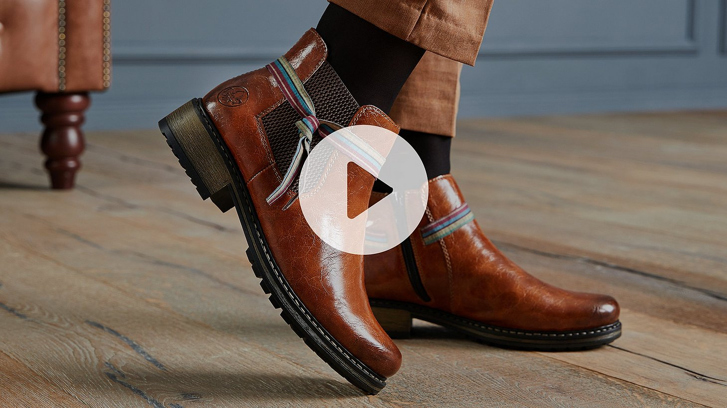 Watch a video about the features of rieker shoes